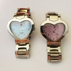 Heart shaped MOP Tommy Hilfiger Watches